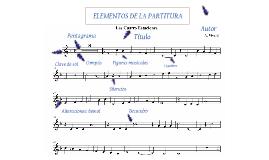 Elementos de una partitura