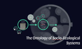 The Ontology of Socio-Ecological Systems