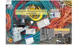 Copy of Cimentación, montaje y alineación de maquinaria