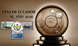FFAA DEL ECUADOR AL 2026