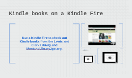 Kindle books on a Kindle Fire