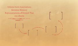 Infants Form Associations Between Memory Representations of