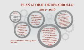 PLAN GLOBAL DE DESARROLLO
