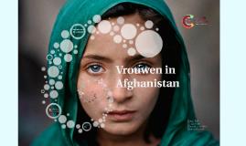 Vrouwen in Afganistan