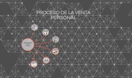 PROCESO DE LA VENTA PERSONAL
