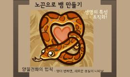 17.3-6-92 노끈 뱀 만들기