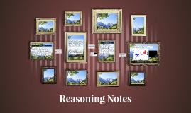 Reasoning Notes