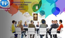 APRENDIZAJE BASADO EN PROBLEMAS (ABP) GRUPO 2