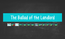 ballad of the landlord Ballad of the landlord: langston hughes - summary and critical analysis in the poem ballad of the landlord by langston hughes there is a hole on the roof of the house.
