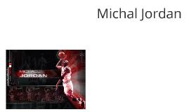 Michal Jordan