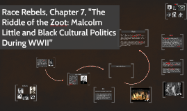 "Race Rebels, Chapter 7, ""The Riddle of the Zoot: Malcolm Lit"