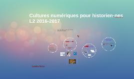 Cultures numériques L2 cours d'intro n°1