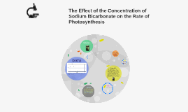 Copy of The Effect of the Concentration of Sodium Bicarbonate on the