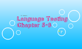 Language Testing, McNamara