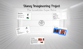 Disney Imagineering Project
