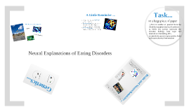 Neural Explanations of Eating Disorders