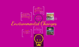 Copy of Short-term and Long-term Environmental Changes