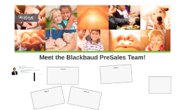 Welcome to the Blackbaud PreSales Team!