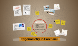 Trigonometry in Forensics