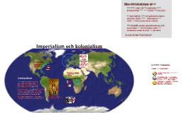Imperialism, kolonialism och nationalism