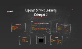 Laporan Service Learning