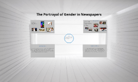 The Portrayal of Gender in Newspapers