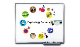 Psychology Careers