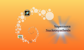 supernova nucleosynthesis Big bang nucleosynthesis  rapid neutron capture during supernova explosions (r-process) heavy hydrogen through uranium top 20 elements in the universe.