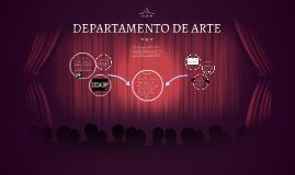 DEPARTAMENTO DE ARTE