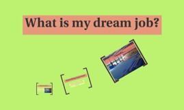 What is my dream job?