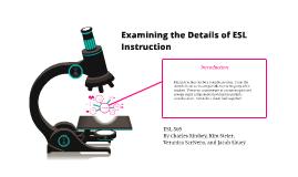 Copy of The details of ESL instruction