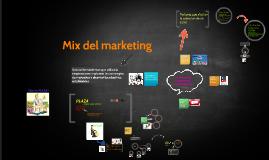 mix del marketing
