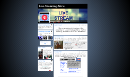 Live-Streaming Crime