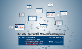 Copy of HOT202 - Ownership Management Structures