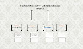 Strategic Analysis: Hilbert College Leadership Program