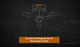 Cyrano de Bergerac Act IV Discussion Guide