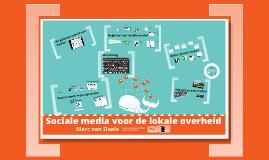 Sociale media voor de lokale overheid