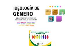 IDEOLOGÍA DE GÉNERO COLOMBIA