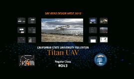 Titan UAV - Cargo Class