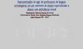 Representações do agir de professores de línguas estrangeira