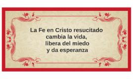 Benedicto XVI: Fe en Cristo resucitado cambia la vida libera