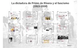 La dictadura de Primo de Rivera y el fascismo (1923-1930)