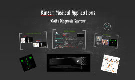 Kinect's Medical Application
