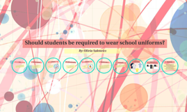 Should Students be Required to wear School Uniforms?