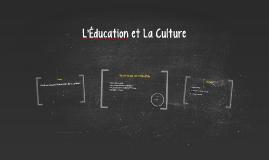 Éducation et Culture