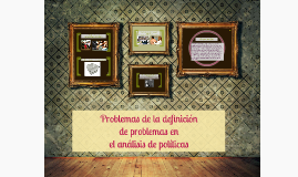 Copy of Problemas de la definición