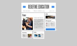 REDEFINE EDUCATION
