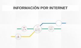 INFORMACIÓN POR INTERNET