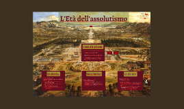 L'Età dell'assolutismo