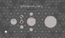 Natuurkunde - Les 3